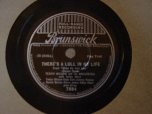 Helen Ward Teddy Wilson - It's swell of you - Brunswick 7884